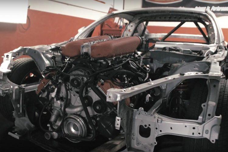 Toyota GT86 Ferrari conversion