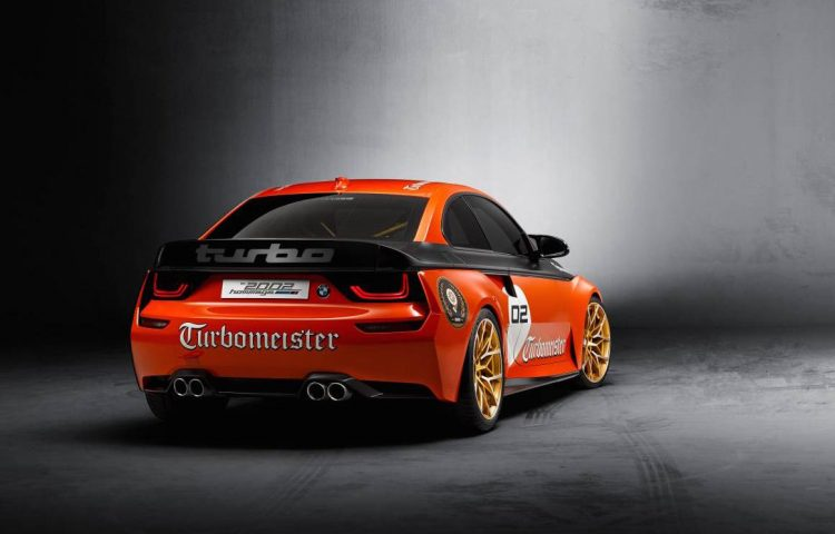 2016 BMW 2002 Hommage-rear