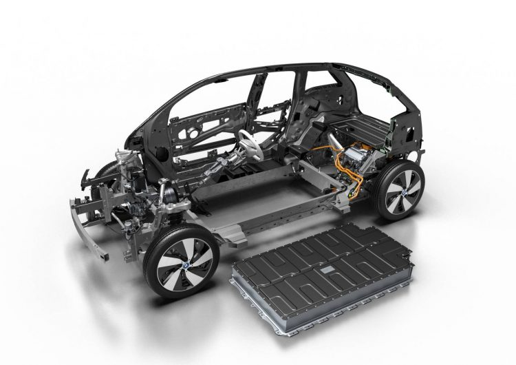 2016 BMW i3 94Ah-structure