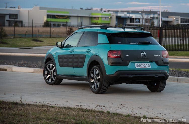 2016 Citroen C4 Cactus petrol-rear