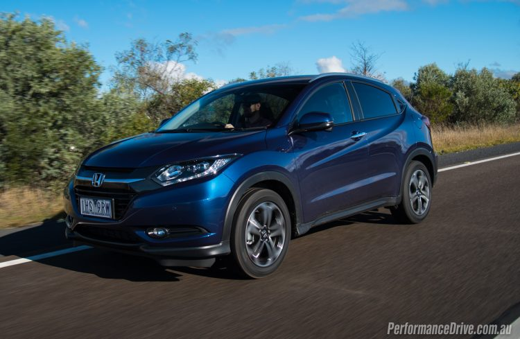 2016 Honda HR-V VTi-L blue
