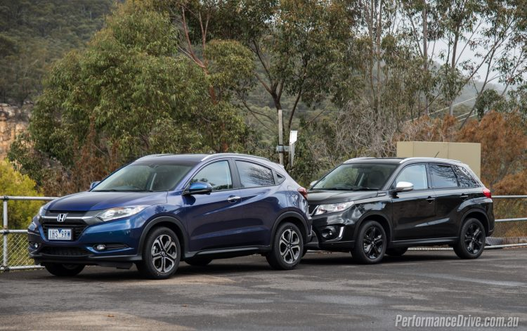 2016 Honda HR-V vs Suzuki Vitara Turbo-10