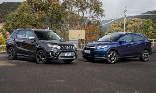2016 Suzuki Vitara Turbo vs Honda HR-V: small SUV comparison