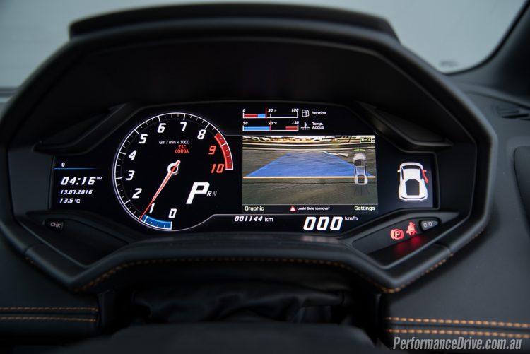 2016 Lamborghini Huracan LP580-2 reverse camera