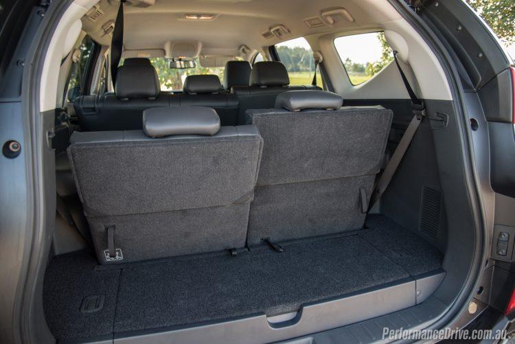 2016 Mitsubishi Pajero Sport Exceed 7 seat-min cargo