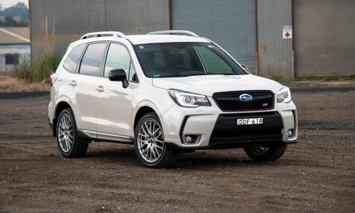 2016 Subaru Forester tS STI review (video)