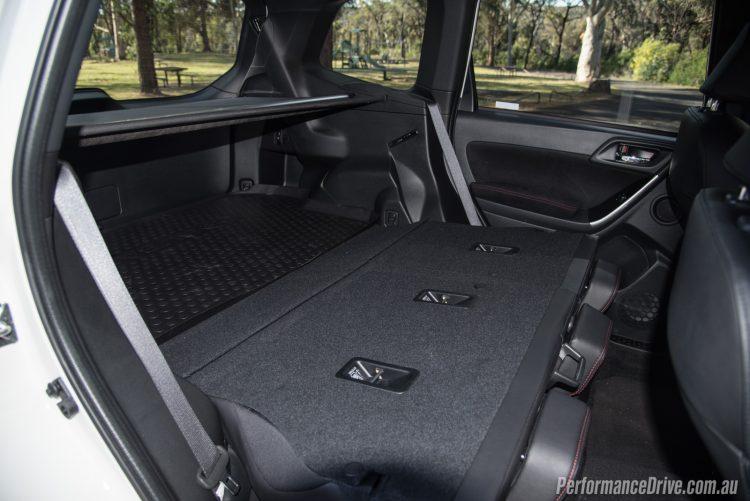 2016 Subaru Forester tS STI-cargo space