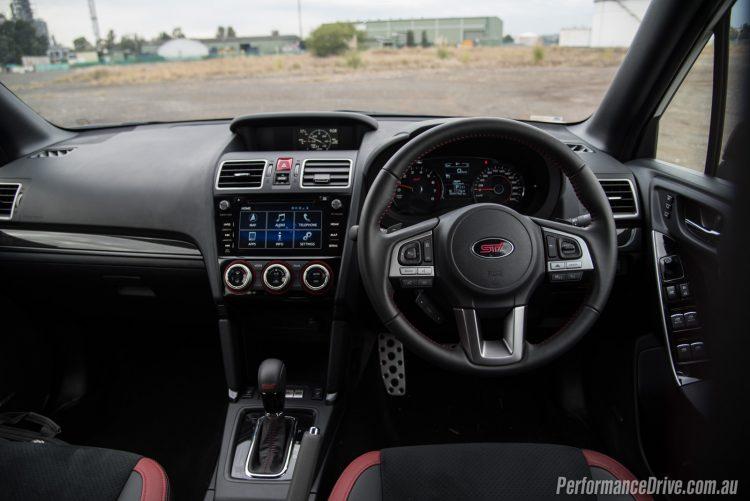 2016 Subaru Forester tS STI-dash