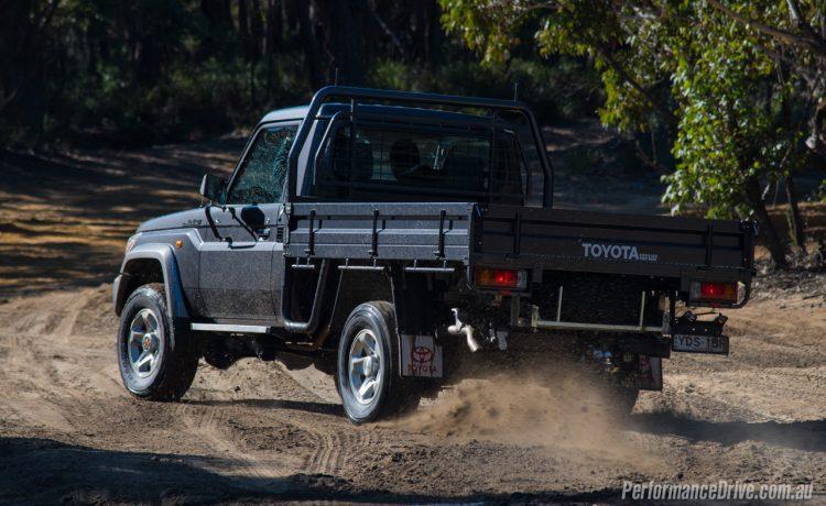 2016 Toyota LandCruiser 70-drift