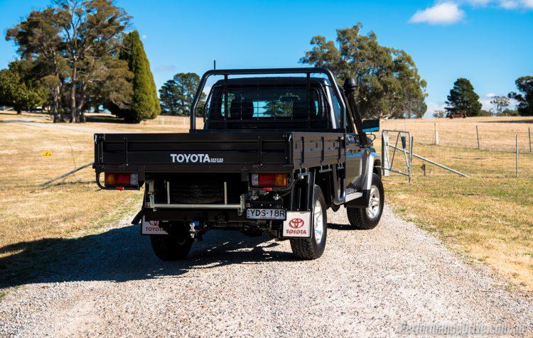 2016 Toyota LandCruiser 70-rear