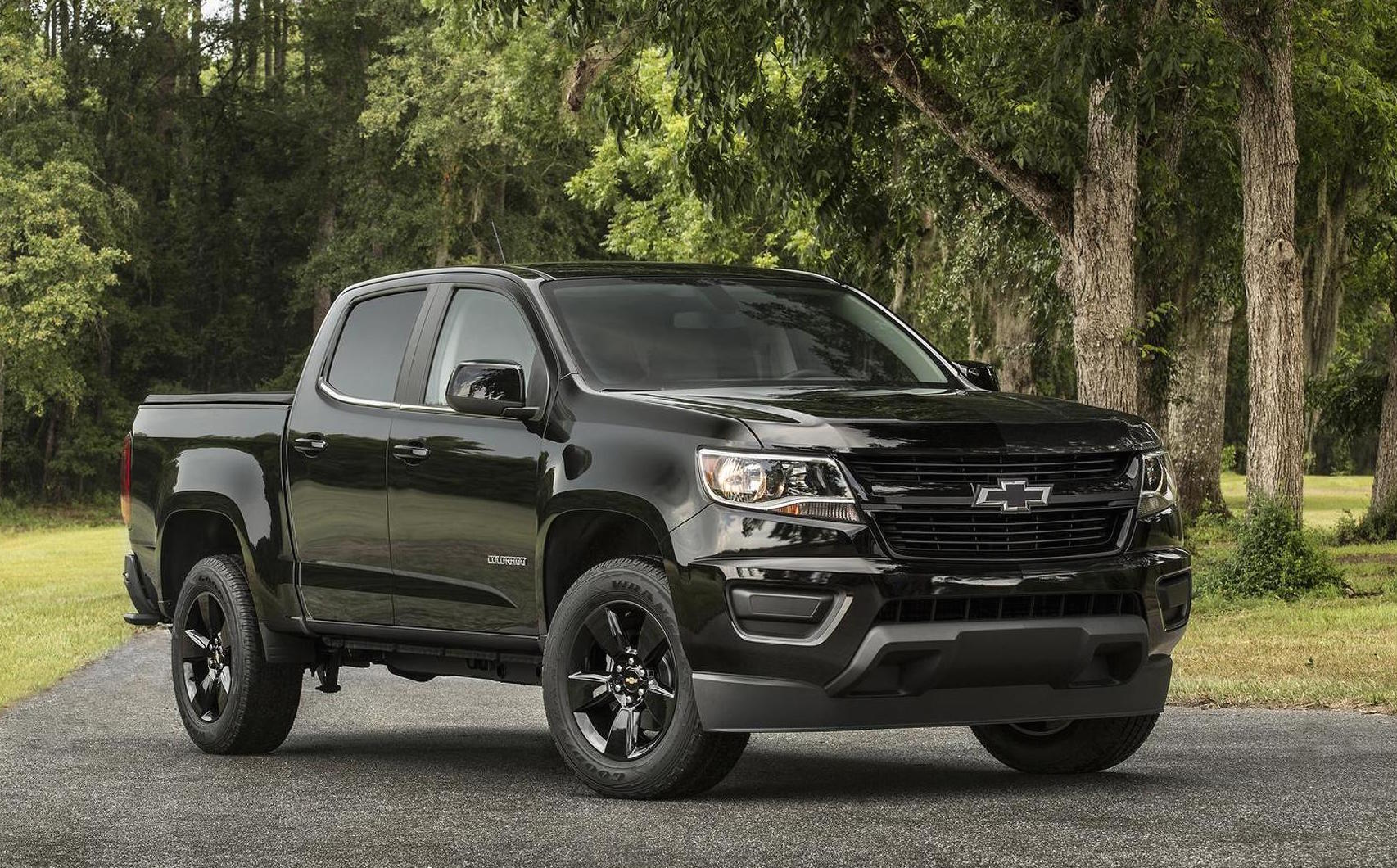 2017 Chevrolet Colorado Debuts New 230kw V6 8spd Auto