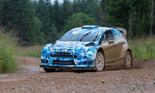 2017 Ford Fiesta RS WRC prototype development hits gravel
