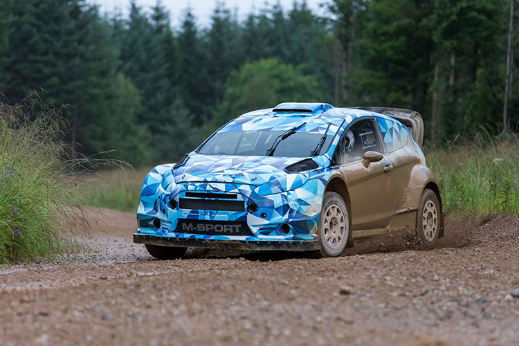 Ford Fiesta Rs 2017 >> 2017 Ford Fiesta Rs Wrc Prototype Development Hits Gravel