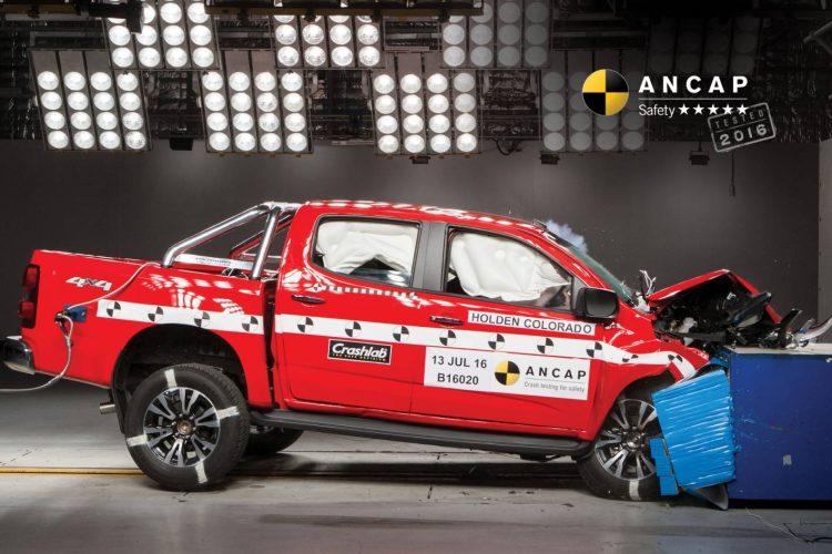 2017 Holden Colorado ANCAP crash