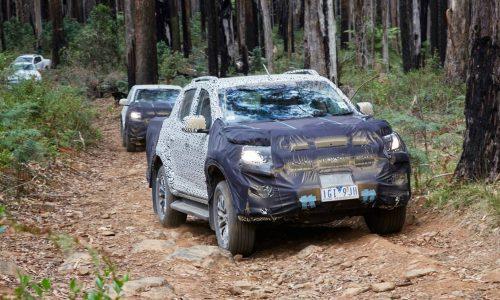 2017 Holden Colorado gets fine-tuned in Australia
