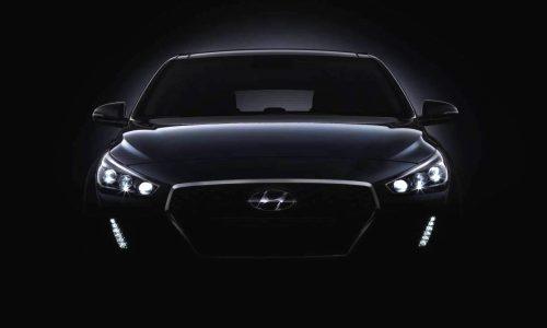 2017 Hyundai i30 previews new design, debuts Sept. 7