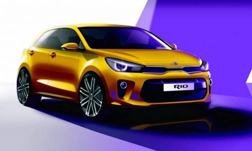 All-new Kia Rio previewed before Paris, gets new design