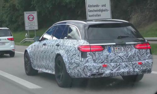 2017 Mercedes-AMG E 63 Estate spotted, Black Series? (video)
