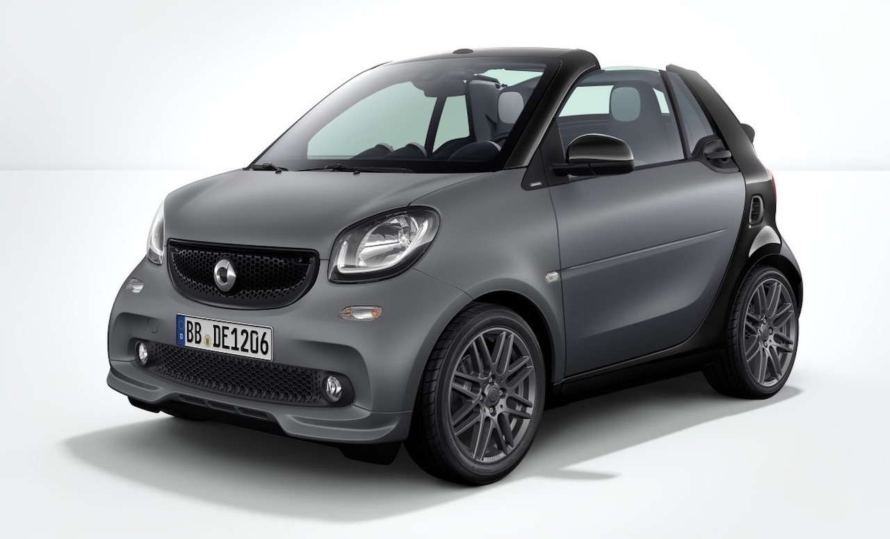 Brabus Sport Package For 2017 Smart Fortwo Revealed Performancedrive