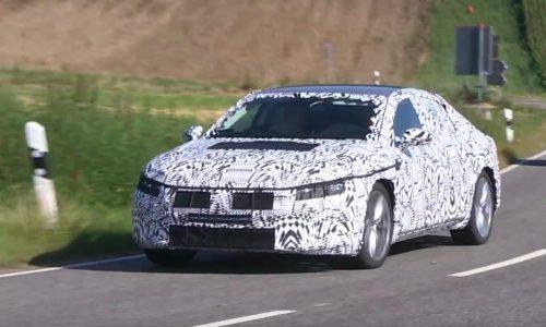 2017 Volkswagen Passat CC spotted, new four-door coupe confirmed? (video)