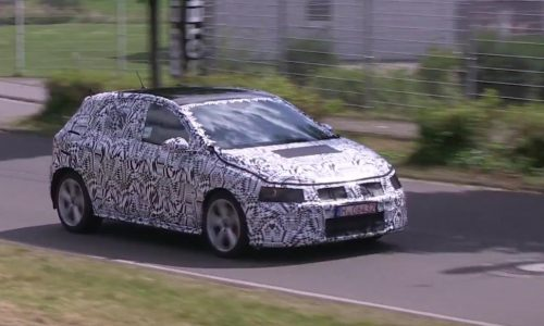 2018 Volkswagen Polo spotted, MQB adds size (video)