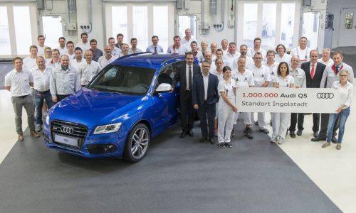 Audi Q5 Ingolstadt production passes 1 million milestone