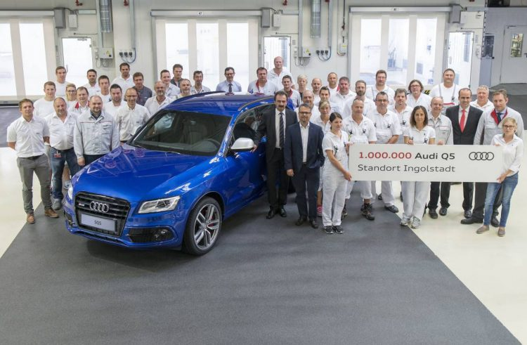 Successful model: one million Audi Q5 from Ingolstadt