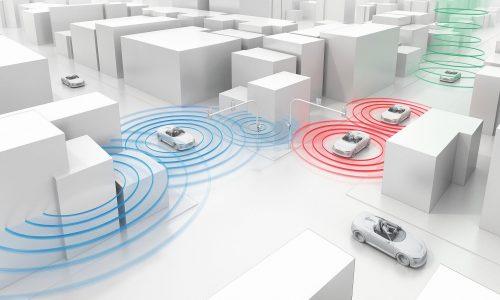 Audi debuts traffic light communication technology