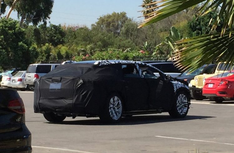 Faraday Future sedan prototype