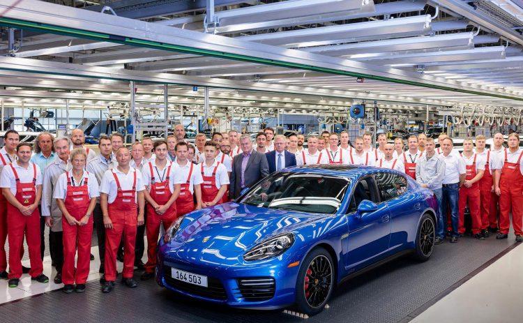 Final first-gen Porsche Panamera