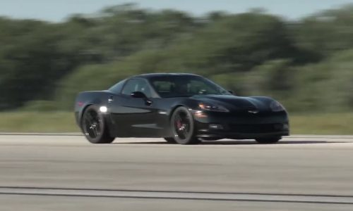 Electric Chevrolet Corvette sets new speed record (video)