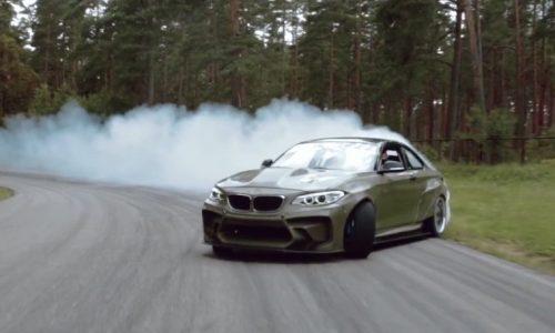 BMW 2 Series gets crazy V8 Chev LS conversion (video)