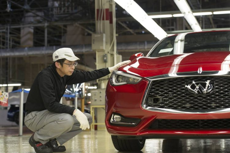 Infiniti Q60 production
