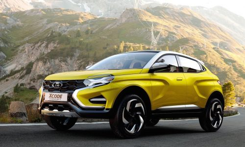 Lada XCODE concept revealed, could spawn funky SUV