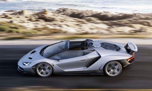 $3 million Lamborghini Centenario Roadster revealed