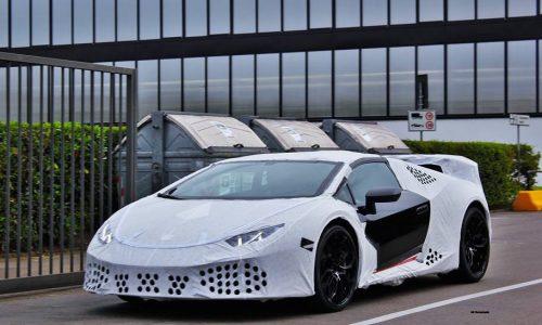 Lamborghini Huracan 'Superleggera' spotted again