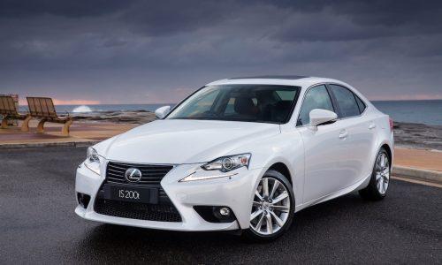Lexus IS sedan passes 1 million production milestone