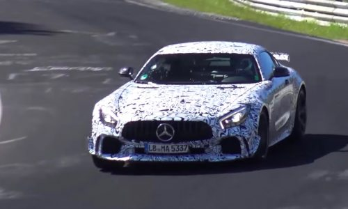 Spotted: Mercedes-AMG 'GT C' roadster & potential GT R Black Series? (Video)
