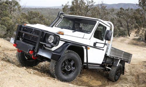 Mercedes-Benz G 300 ute to be offered in Australia in 2017