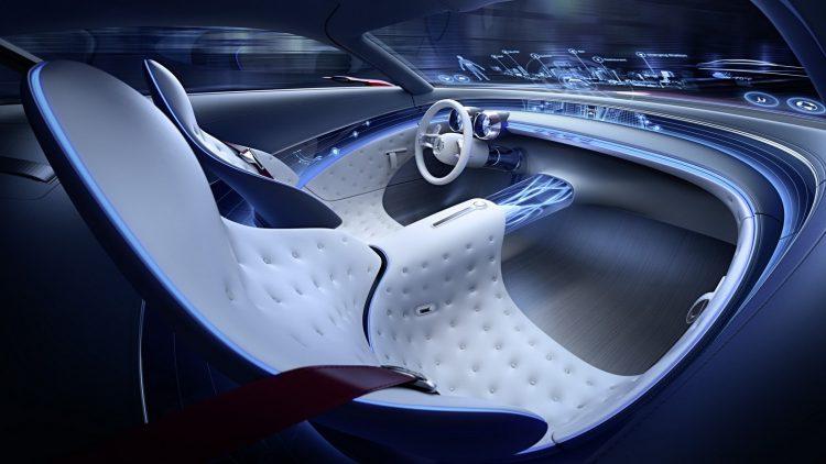 Mercedes-Maybach Vision 6 Concept-interior