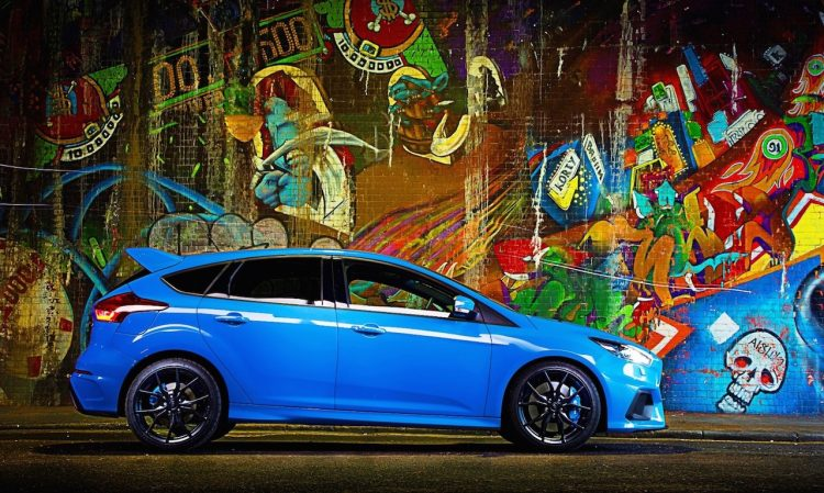 Mountune Ford Focus RS-side