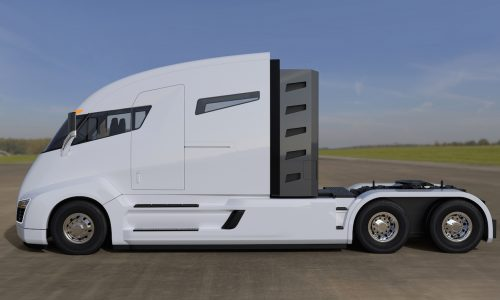 Nikola One 2000hp electric truck to debut December