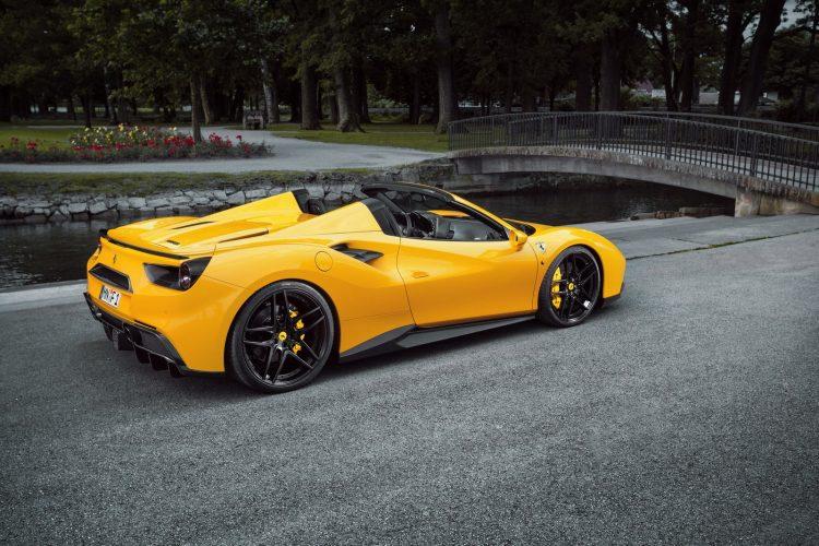 Novitec Ferrari 488 Spider-black wheels