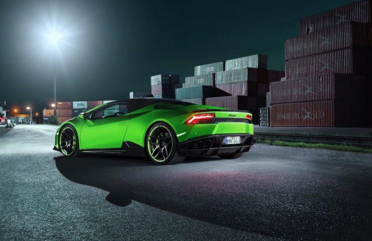 Novitec Lamborghini Huracan Spyder-roof