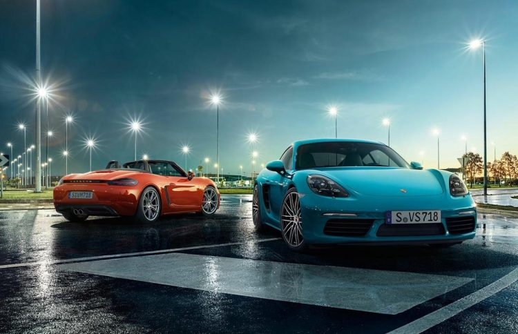 Porsche 718 Cayman and Boxster