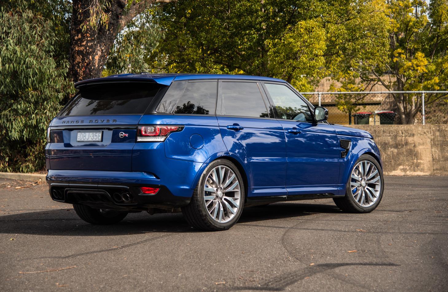 Range Rover Sport Svr Review First Impressions Pov