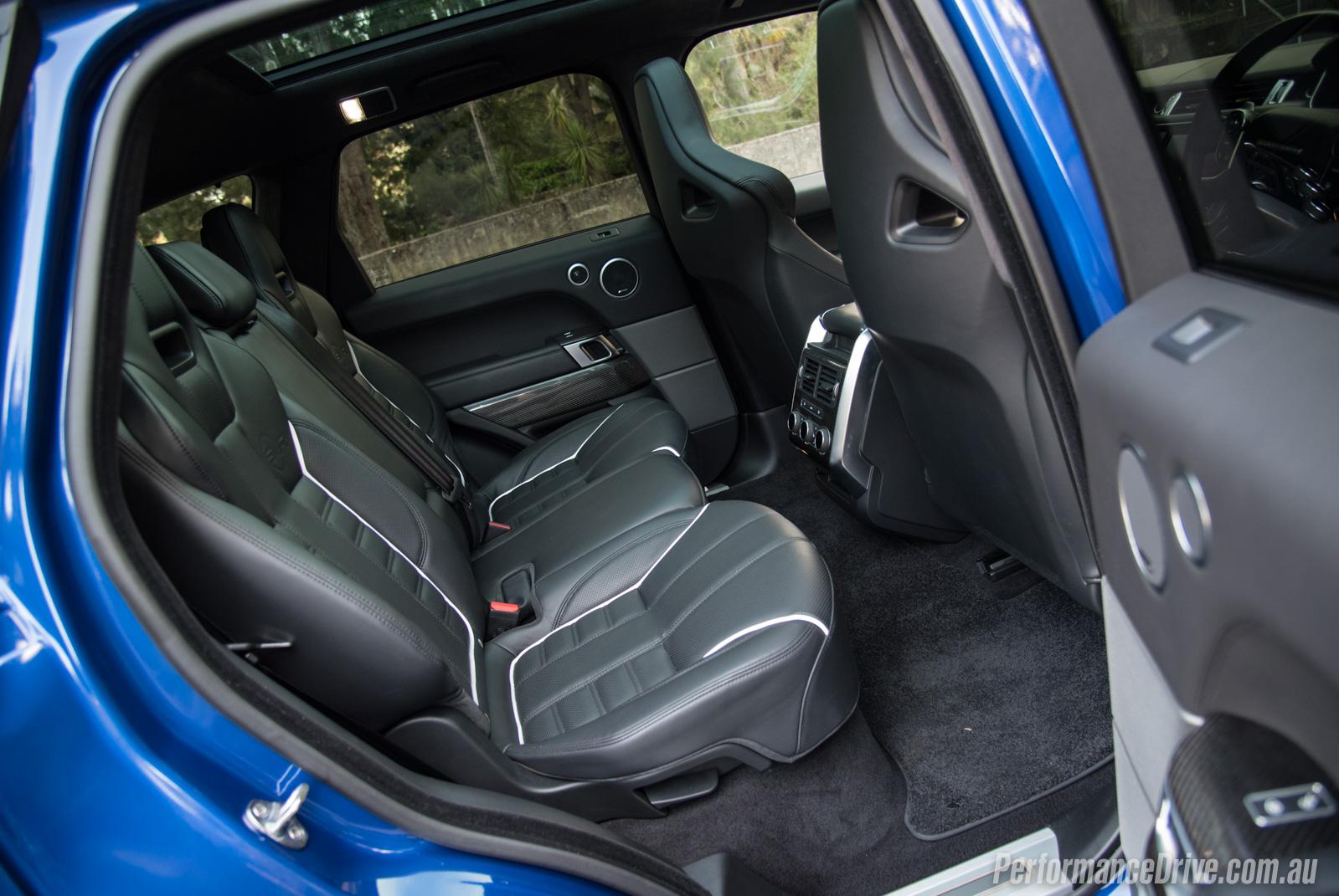 2016 Range Rover Sport Svr Review Video Performancedrive