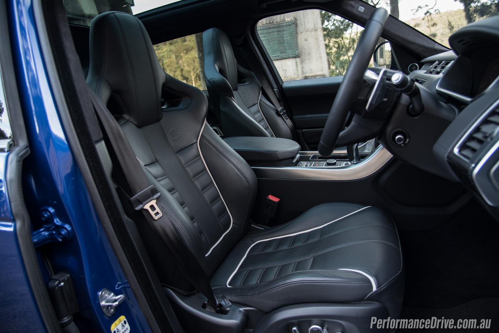 Land Rover Range Rover Velar R Dynamic Hse >> 2016 Range Rover Sport SVR review (video)   PerformanceDrive