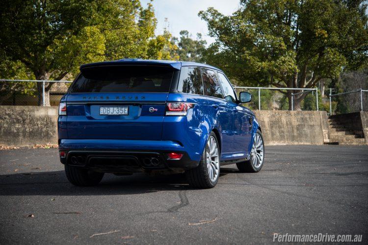 Range Rover Sport SVR-taillights