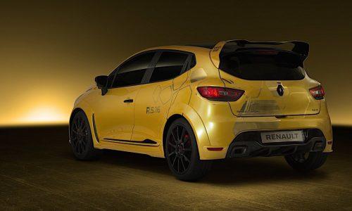 Renault Clio RS16 to go into production, Clio V6 successor?
